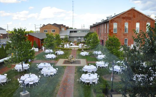 Our LeFevre Courtyard is large enough to accommodate receptions, graduation parties, and other special events.